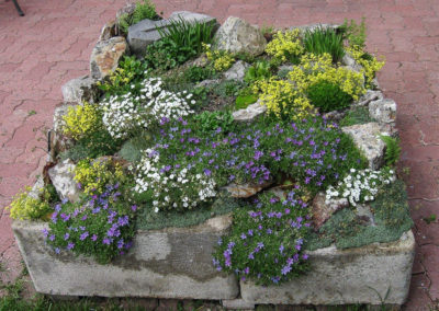 Three Unit Alpine Trough