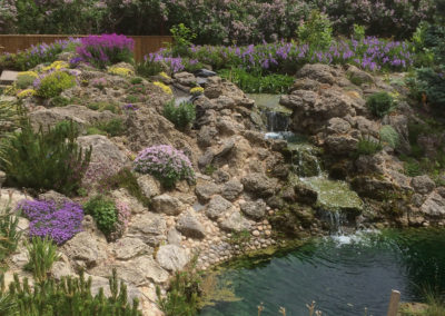 Tufa Boulder Garden and Pond