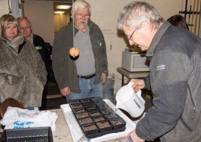Pasteurizing seed starting mix