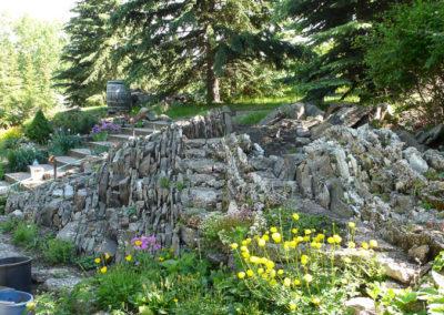 Crevice Garden Construction