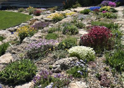Tufa Rock Garden